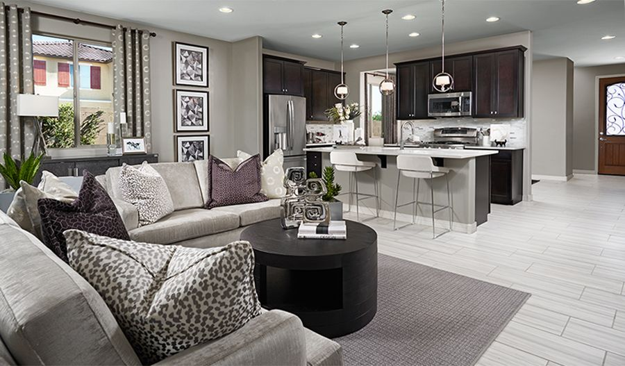 Living Area featured in the Amethyst By Richmond American Homes in Lakeland-Winter Haven, FL