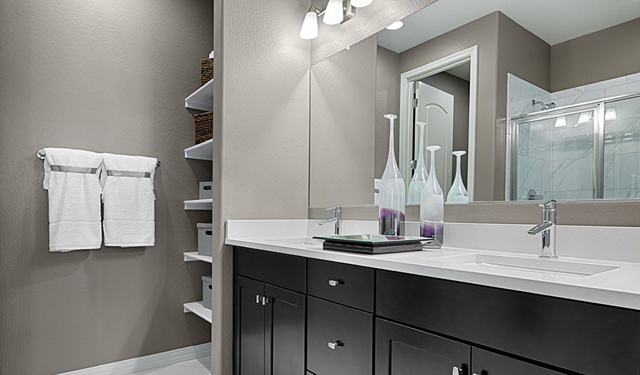 Bathroom featured in the Amethyst By Richmond American Homes in Lakeland-Winter Haven, FL