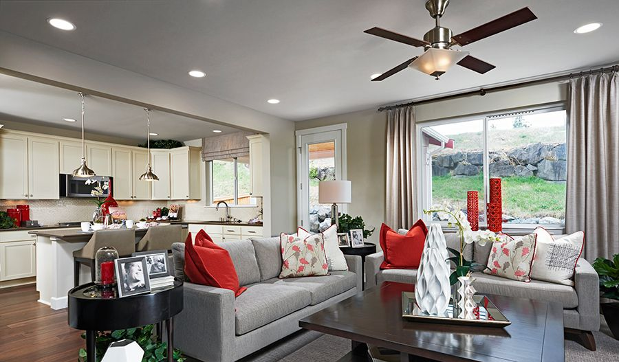 Living Area featured in the Ash By Richmond American Homes in Las Vegas, NV