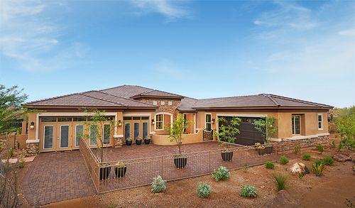 New homes in phoenix arizona home builder shea homes for Waddell custom homes
