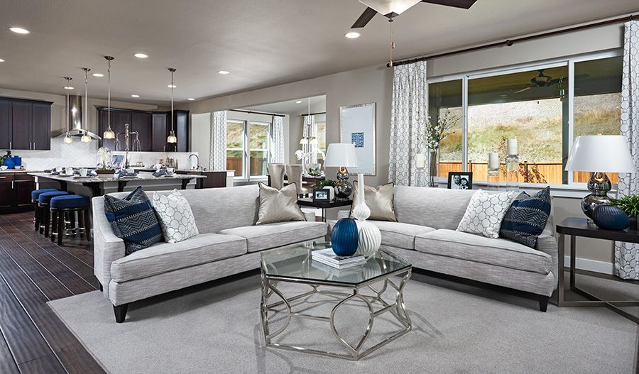 Living Area featured in the Alexa By Richmond American Homes in Sacramento, CA