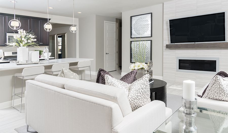 Living Area featured in the Amethyst By Richmond American Homes in Denver, CO