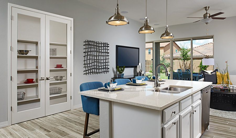 Kitchen featured in the Onyx By Richmond American Homes in Phoenix-Mesa, AZ