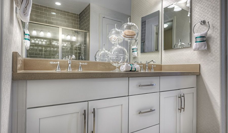 Bathroom featured in the Sarah By Richmond American Homes in Las Vegas, NV