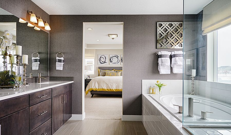 Bathroom featured in the Bedford By Richmond American Homes in Denver, CO
