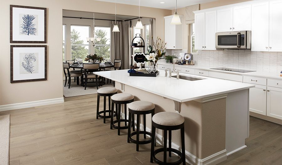 Kitchen featured in the Hopewell By Richmond American Homes in Denver, CO
