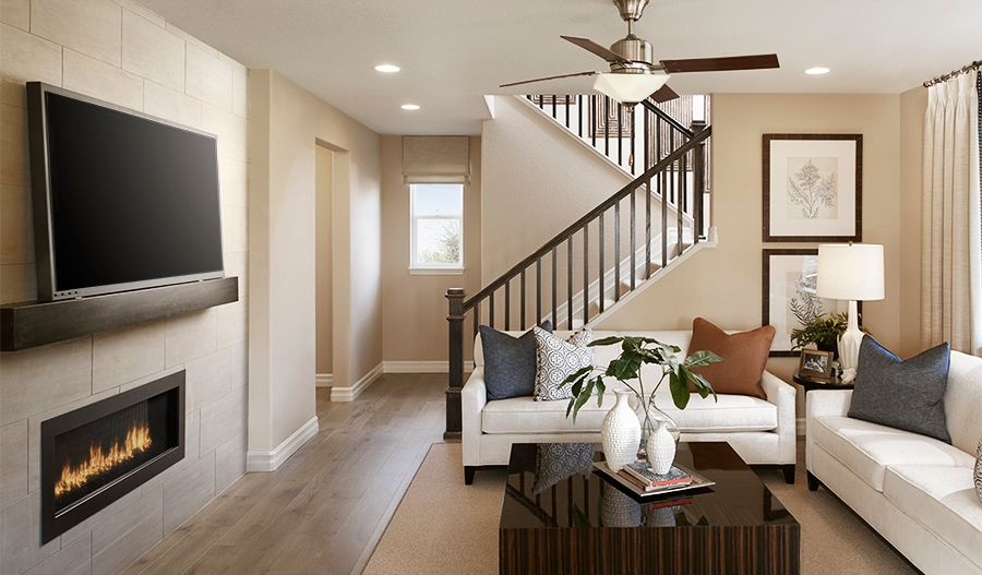 Living Area featured in the Hopewell By Richmond American Homes in Denver, CO