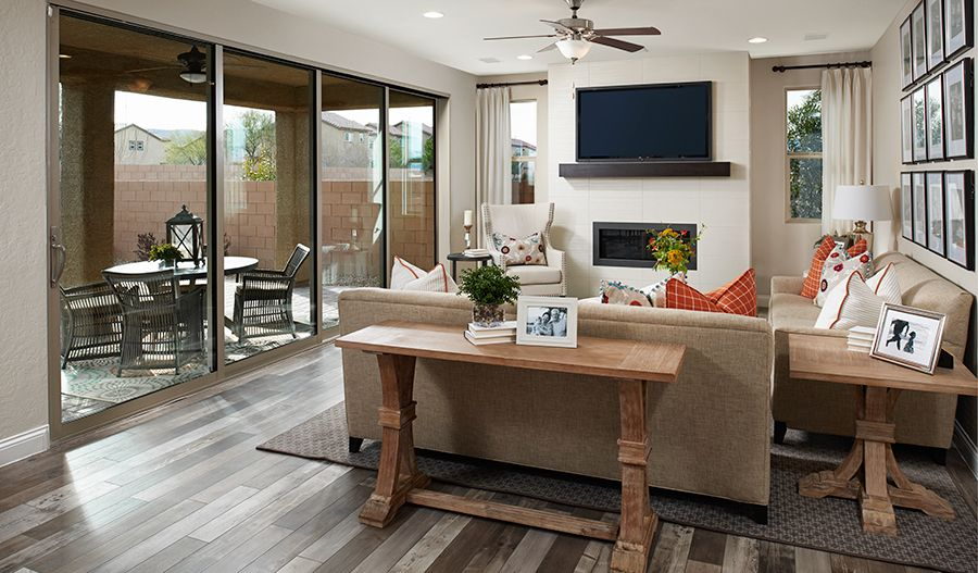 Living Area featured in the Sage By Richmond American Homes in Las Vegas, NV