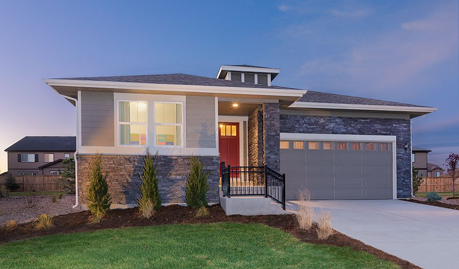 New homes in colorado springs co new home source for Modern homes colorado springs