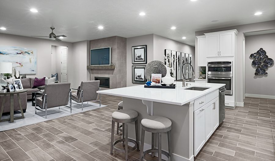 Living Area featured in the Bedford By Richmond American Homes in Denver, CO