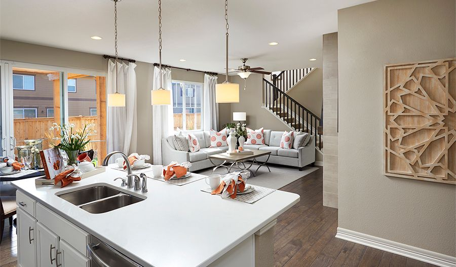 Living Area featured in the Coral By Richmond American Homes in Lakeland-Winter Haven, FL