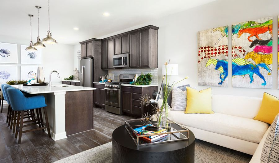 Living Area featured in the Onyx By Richmond American Homes in Orlando, FL