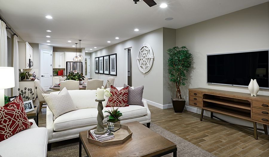 Living Area featured in the Ruby II By Richmond American Homes in Daytona Beach, FL