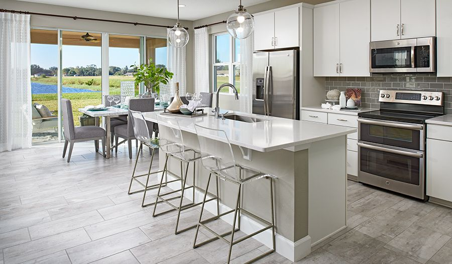 Kitchen featured in the Moonstone By Richmond American Homes in Orlando, FL