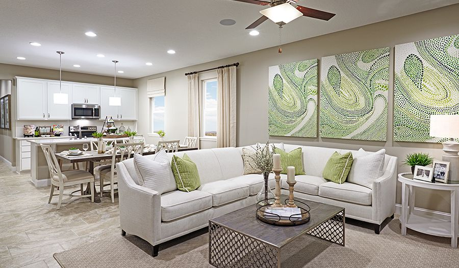 Living Area featured in the Peridot By Richmond American Homes in Phoenix-Mesa, AZ