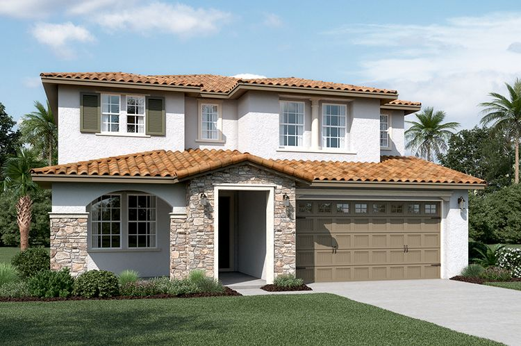Exterior featured in the Samara By Richmond American Homes in San Diego, CA