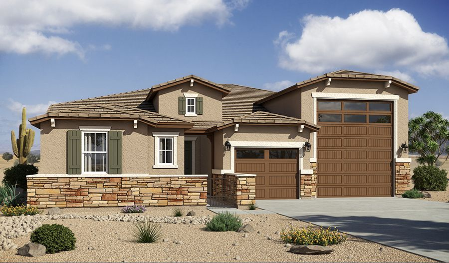 Canyon Trails In Goodyear Az New Homes Amp Floor Plans By