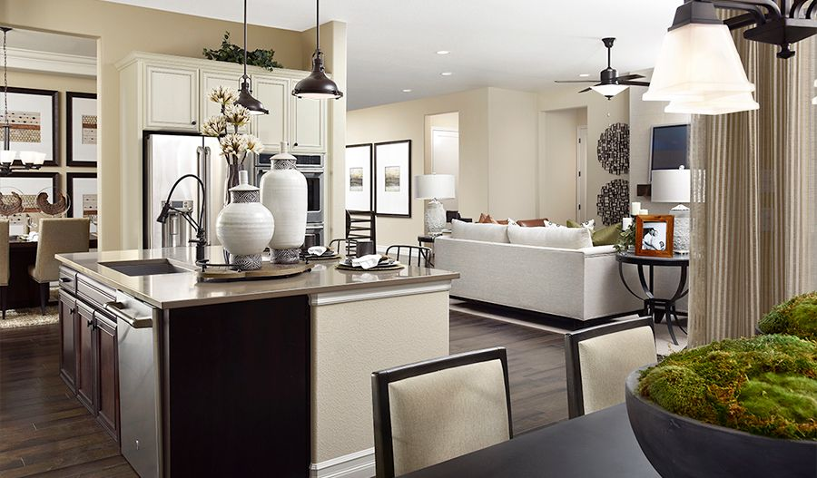 Living Area featured in the Delaney By Richmond American Homes in Riverside-San Bernardino, CA