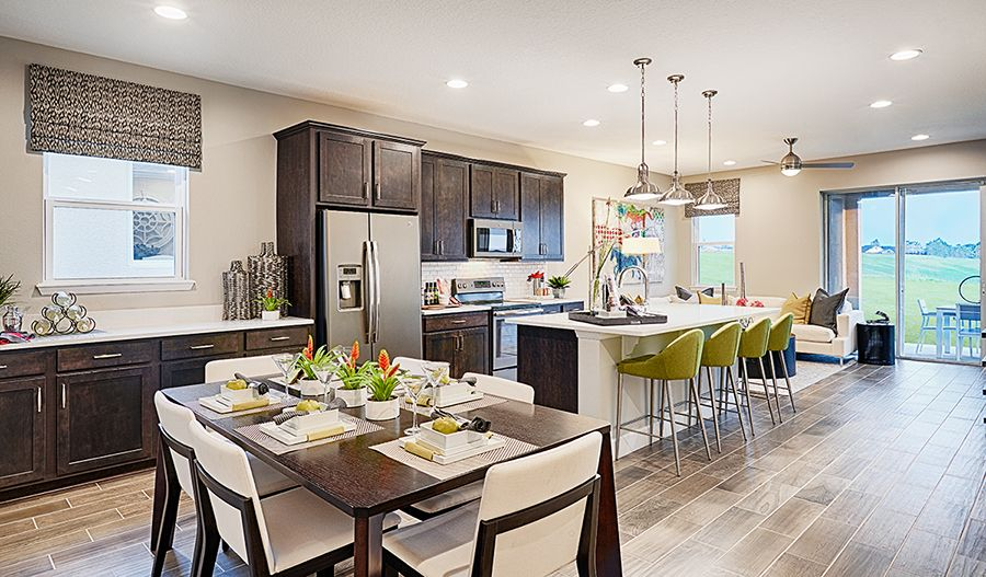 Kitchen featured in the Onyx By Richmond American Homes in Lakeland-Winter Haven, FL