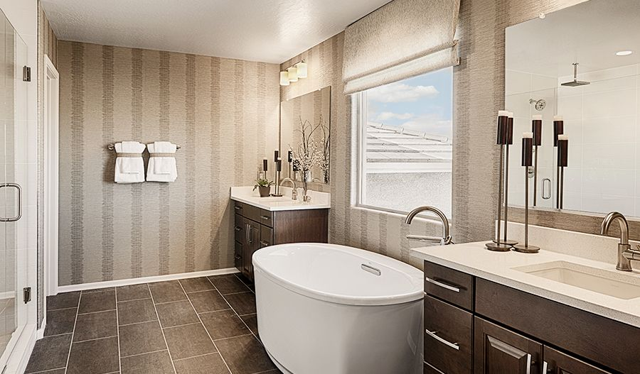Bathroom featured in the Pearce By Richmond American Homes in Phoenix-Mesa, AZ