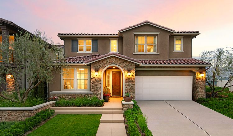 Exterior featured in the Shania By Richmond American Homes in San Diego, CA