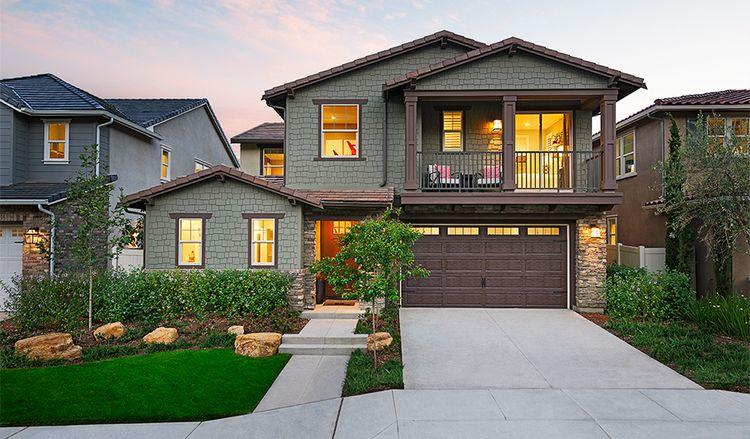 Exterior featured in the Simone By Richmond American Homes in San Diego, CA