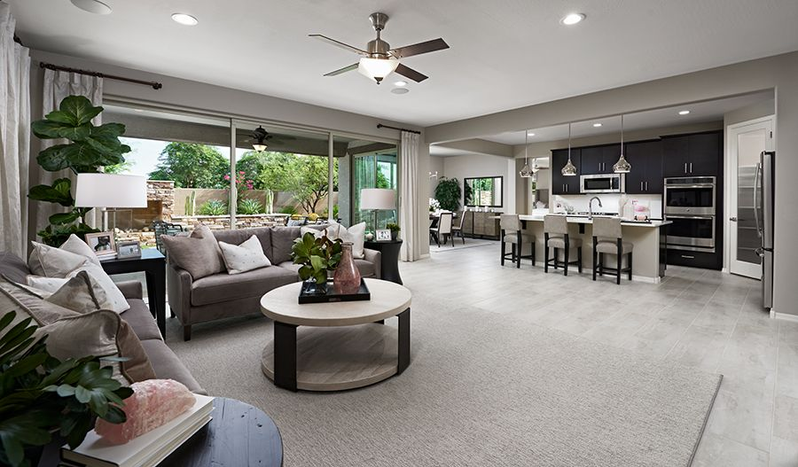 Living Area featured in the Darius By Richmond American Homes in Phoenix-Mesa, AZ