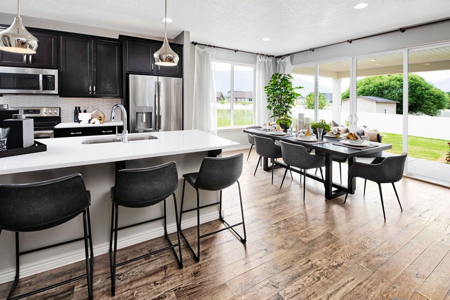 Kitchen featured in the Moonstone By Richmond American Homes in Lakeland-Winter Haven, FL