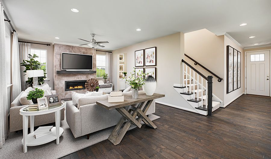 Living Area featured in the Pearl By Richmond American Homes in Orlando, FL