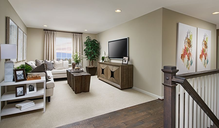Living Area featured in the Pearl By Richmond American Homes in Daytona Beach, FL
