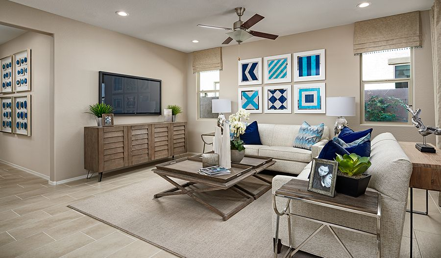 Living Area featured in the Azure By Richmond American Homes in Orlando, FL