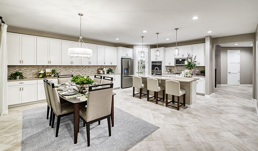 Kitchen featured in the Pearce By Richmond American Homes in Phoenix-Mesa, AZ