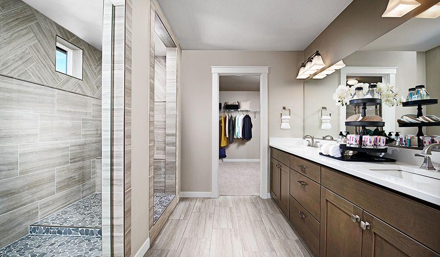 Bathroom featured in the Alexa By Richmond American Homes in Sacramento, CA