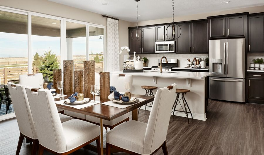 Kitchen featured in the Lapis By Richmond American Homes in Denver, CO