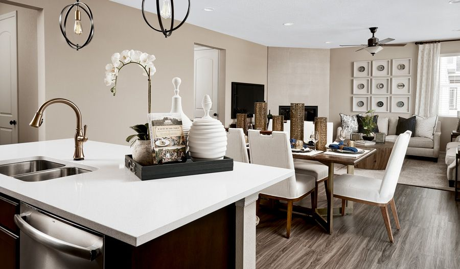 Living Area featured in the Lapis By Richmond American Homes in Denver, CO
