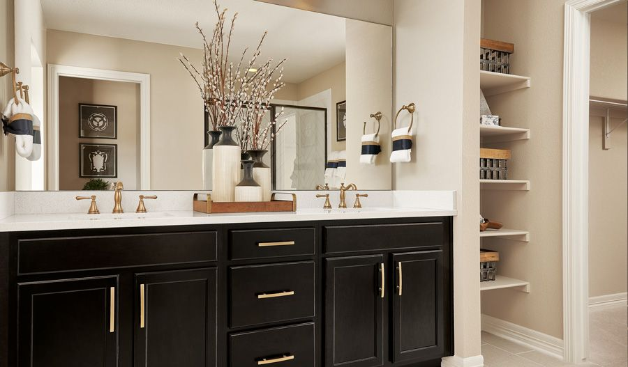 Bathroom featured in the Lapis By Richmond American Homes in Riverside-San Bernardino, CA