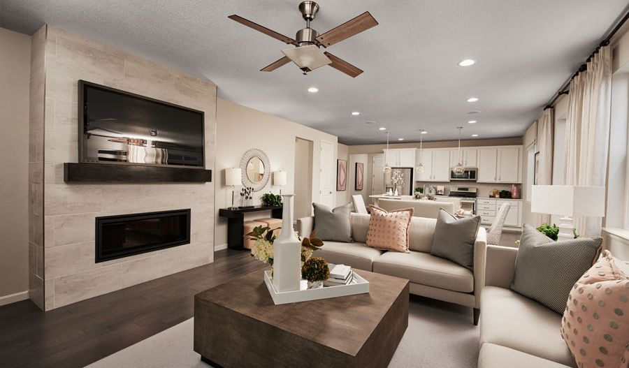 Living Area featured in the Alexandrite By Richmond American Homes in Denver, CO
