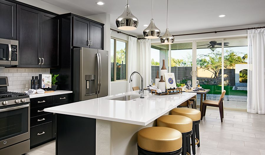 Kitchen featured in the Moonstone By Richmond American Homes in Phoenix-Mesa, AZ