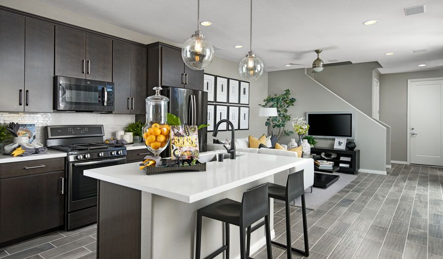 Kitchen featured in the Chicago By Richmond American Homes in Las Vegas, NV