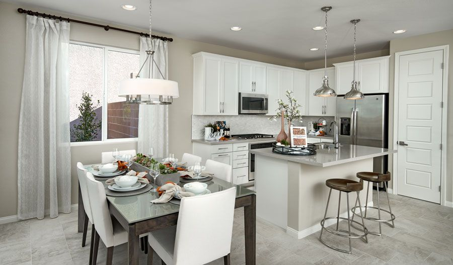 Kitchen featured in the Hibiscus By Richmond American Homes in Las Vegas, NV