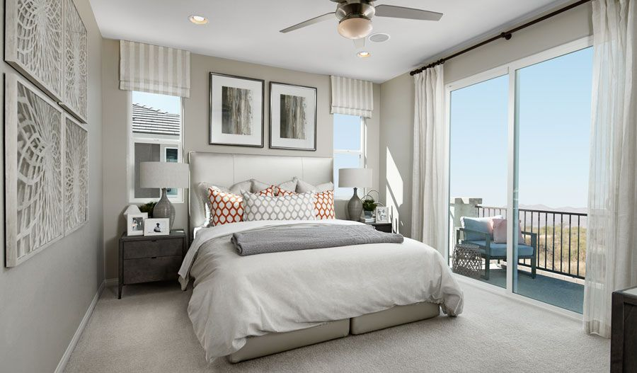 Bedroom featured in the Hibiscus By Richmond American Homes in Las Vegas, NV