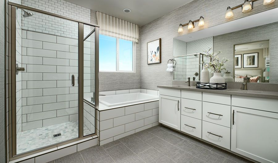 Bathroom featured in the Hibiscus By Richmond American Homes in Las Vegas, NV