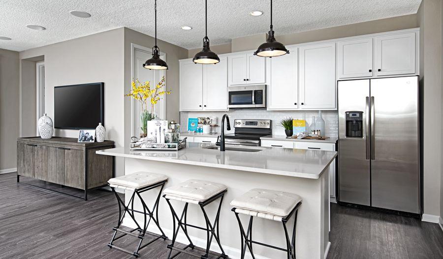 Kitchen featured in the Larimar By Richmond American Homes in Phoenix-Mesa, AZ