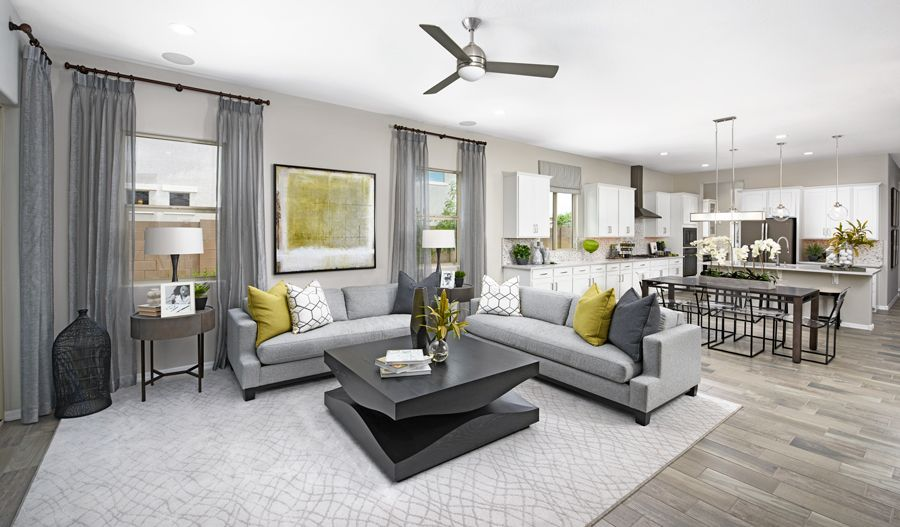 Living Area featured in the Raleigh By Richmond American Homes in Phoenix-Mesa, AZ