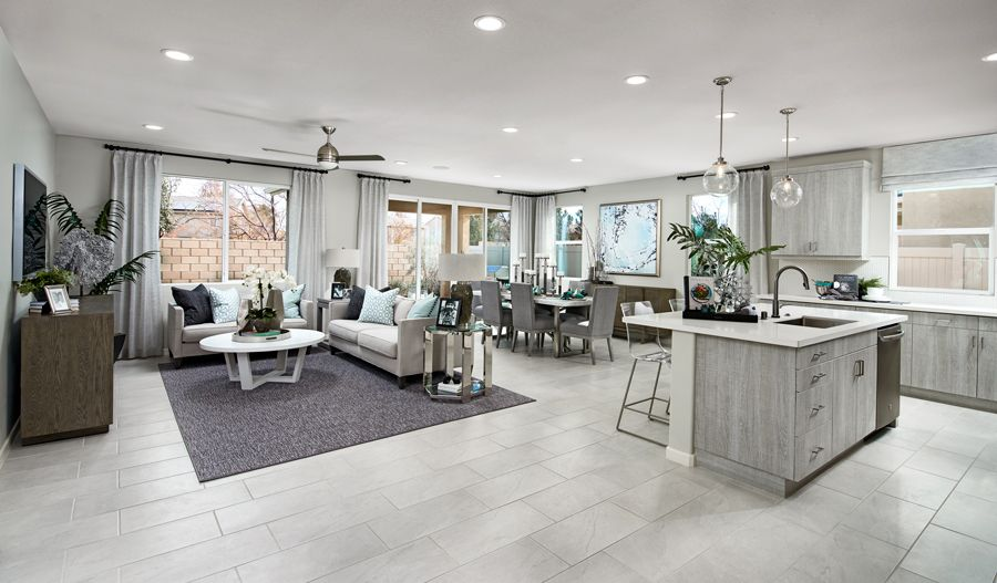 Living Area featured in the Agate By Richmond American Homes in Phoenix-Mesa, AZ