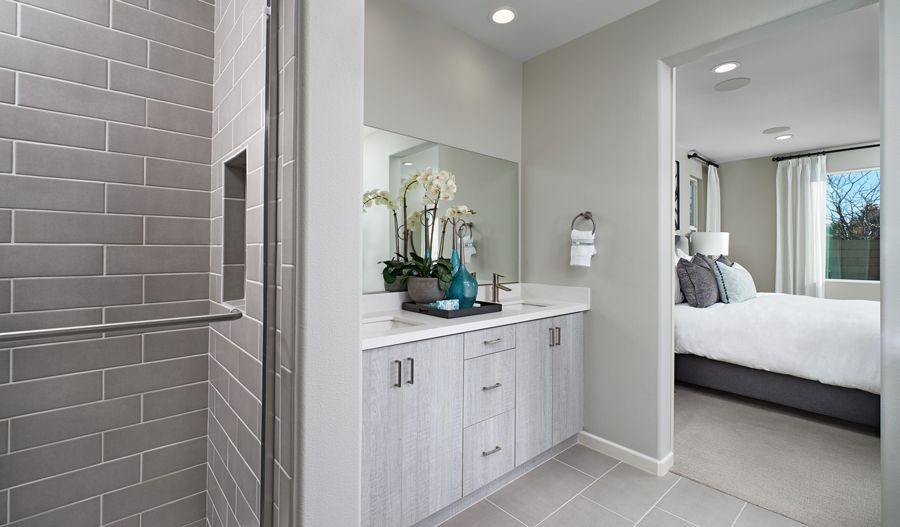 Bathroom featured in the Agate By Richmond American Homes in Riverside-San Bernardino, CA