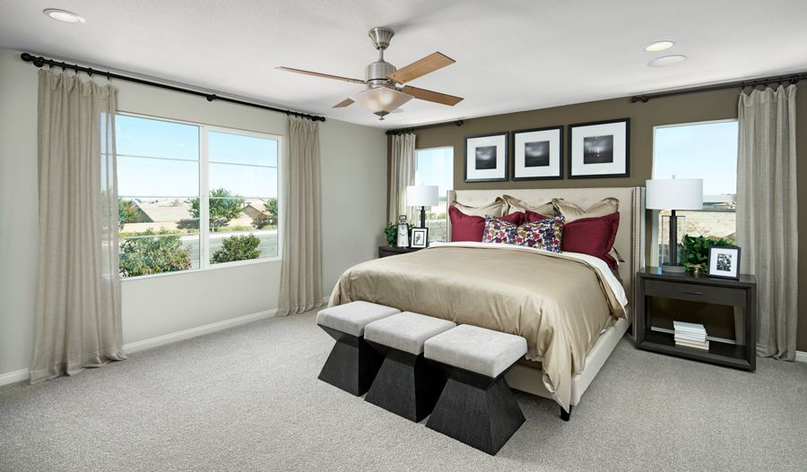 Bedroom featured in the Ammolite By Richmond American Homes in Sacramento, CA