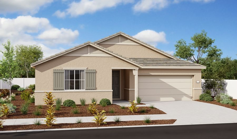 Exterior featured in the Timothy By Richmond American Homes in Sacramento, CA