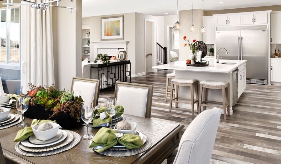Kitchen featured in the Coronado By Richmond American Homes in Denver, CO