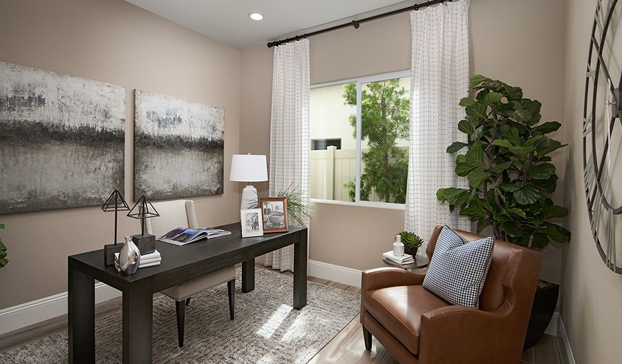Living Area featured in the Alan II By Richmond American Homes in Sacramento, CA
